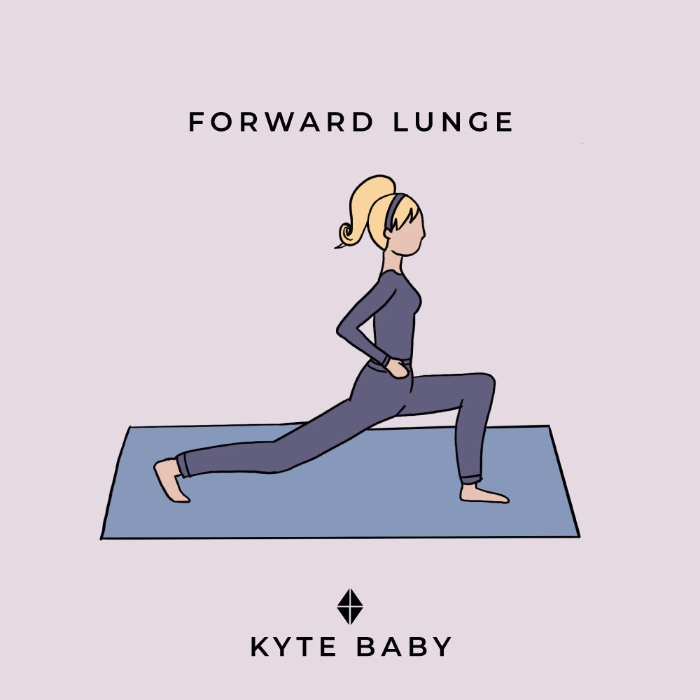 forward lunge pregnancy