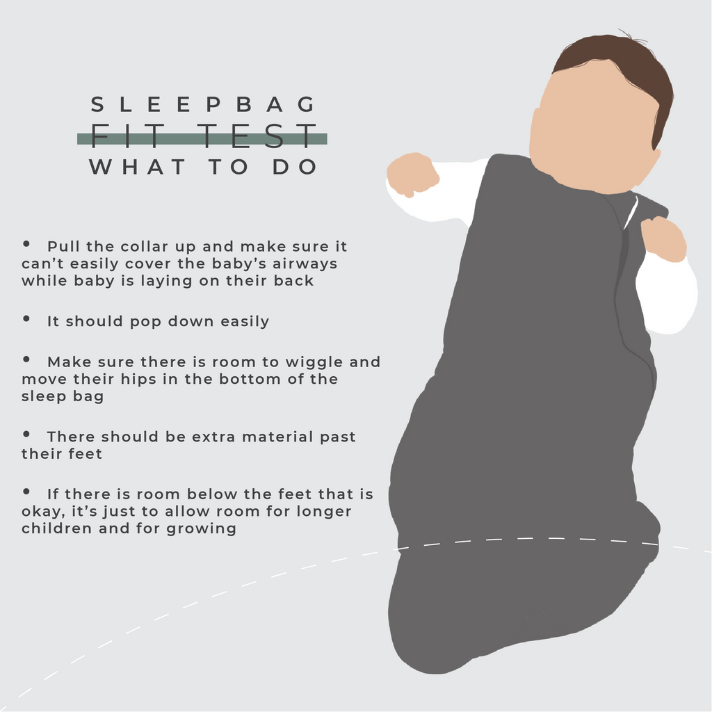sleep sack fit test