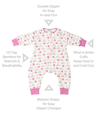 Image of sleep suit feature