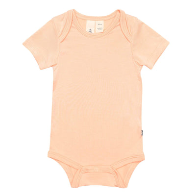Early Access Layette Bodysuit in Papaya