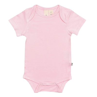 Early Access Layette Bodysuit in Peony