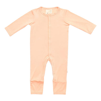 Early Access Layette Romper in Papaya