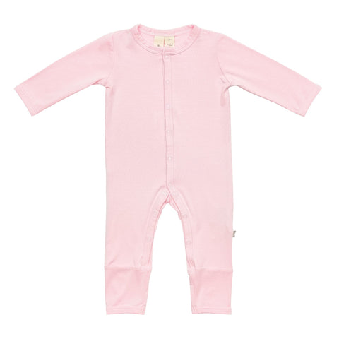 Early Access Layette Romper in Peony