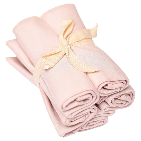 Kyte BABY Accessory Blush / OS Washcloth 5-Pack in Blush