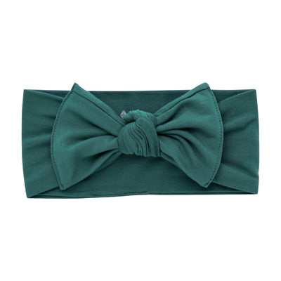 Kyte BABY Accessory Bows in Emerald