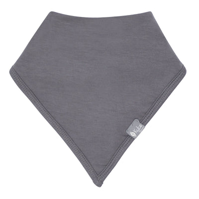 Kyte BABY Accessory Charcoal Bib in Charcoal