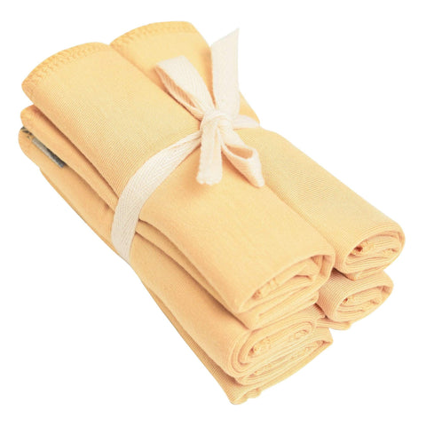 Washcloth 5-Pack in Honey - Kyte Baby