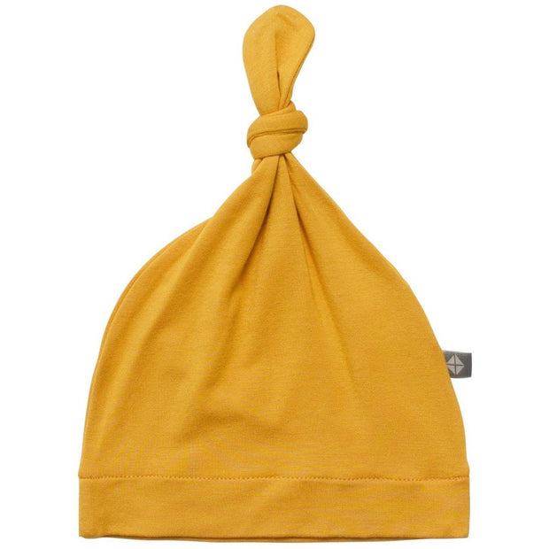 Knotted Cap in Mustard - Kyte Baby