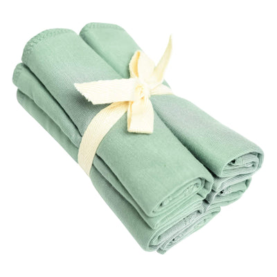 Washcloth 5-Pack in Matcha - Kyte Baby