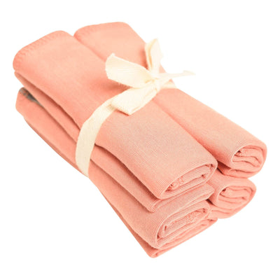 Washcloth 5-Pack in Terracotta - Kyte Baby