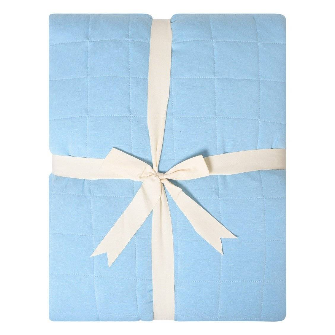 Adult Quilted Blanket in Azure - Kyte Baby