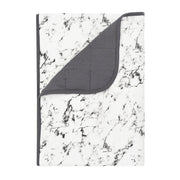 Kyte BABY Blanket Charcoal Marble / 1.0 Tog / Toddler Printed Toddler Blankets in Marble Collection