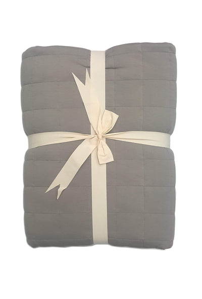 Adult Quilted Blanket in Clay - Kyte Baby