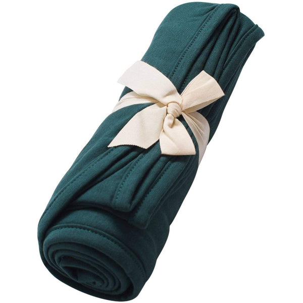 Kyte BABY Blanket Emerald / Infant Swaddle Blanket in Emerald