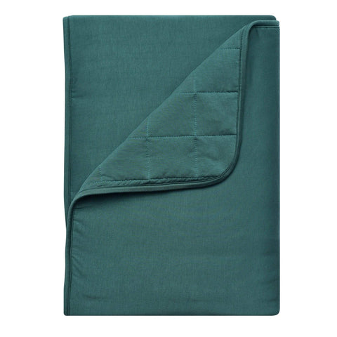 Toddler Blanket in Emerald - Kyte Baby
