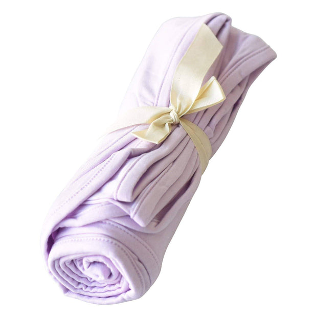 Kyte BABY Blanket Mauve / Infant Swaddle Blanket in Mauve