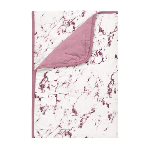 Kyte BABY Blanket Mulberry Marble / 1.0 Tog / Toddler Printed Toddler Blankets in Marble Collection