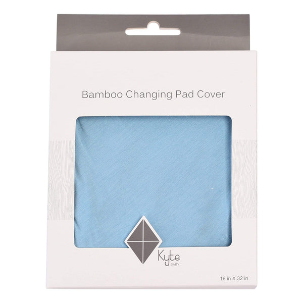 Kyte BABY Change Pad Cover Azure / One Size Change Pad Cover in Azure