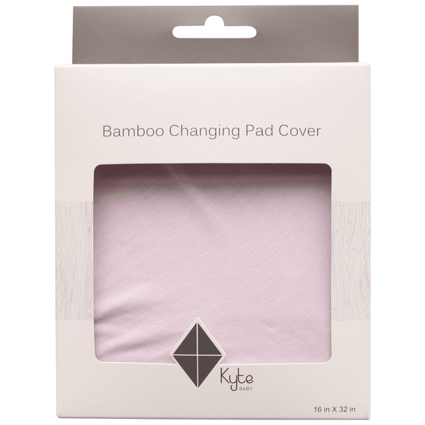 Change Pad Cover in Mauve - Kyte Baby