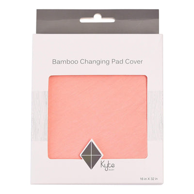 Change Pad Cover in Peach - Kyte Baby