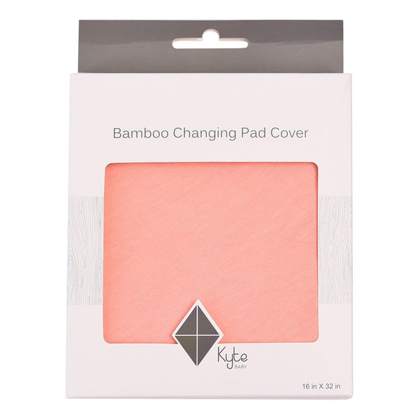 Kyte BABY Change Pad Cover Peach / One Size Change Pad Cover in Peach