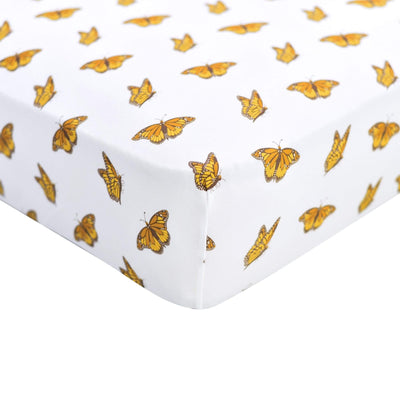 Kyte BABY Crib Sheet Crib Sheet / Monarch Printed Fitted Sheet in Monarch