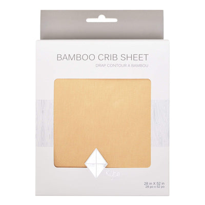 Crib Sheet in Honey - Kyte Baby