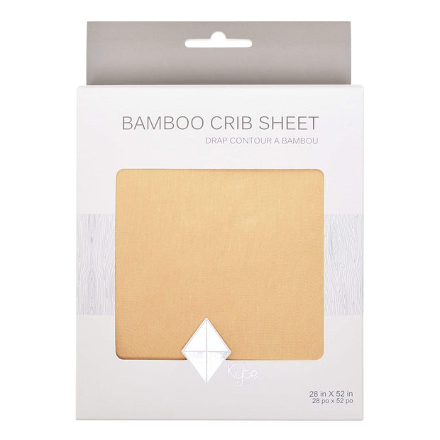 Kyte BABY Crib Sheet Honey / One Size Crib Sheet in Honey