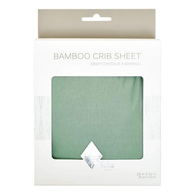 Crib Sheet in Matcha - Kyte Baby