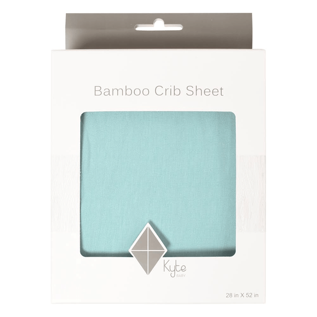 Kyte BABY Crib Sheet Seafoam / One Size Crib Sheet in Seafoam