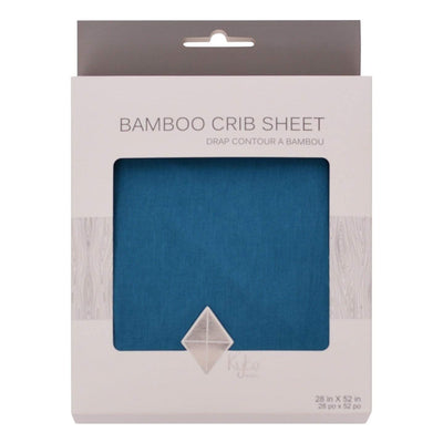 Crib Sheet in Teal - Kyte Baby
