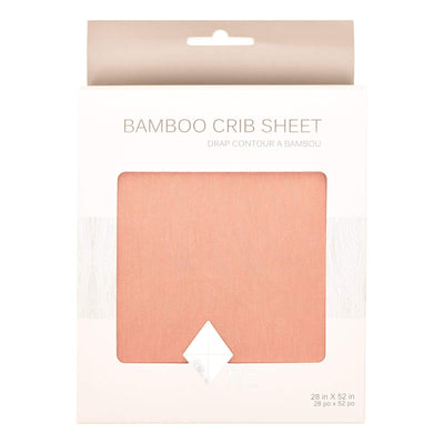 Crib Sheet in Terracotta - Kyte Baby