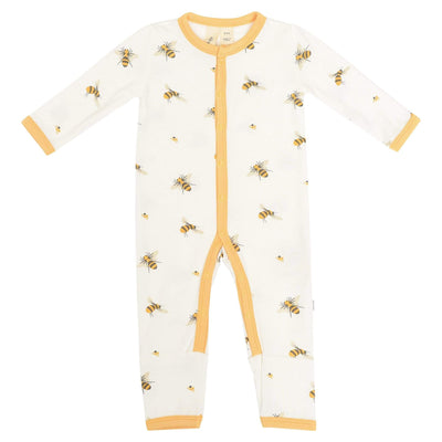 Printed Romper in Buzz - Kyte Baby
