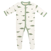 Printed Footie in Dino - Kyte Baby