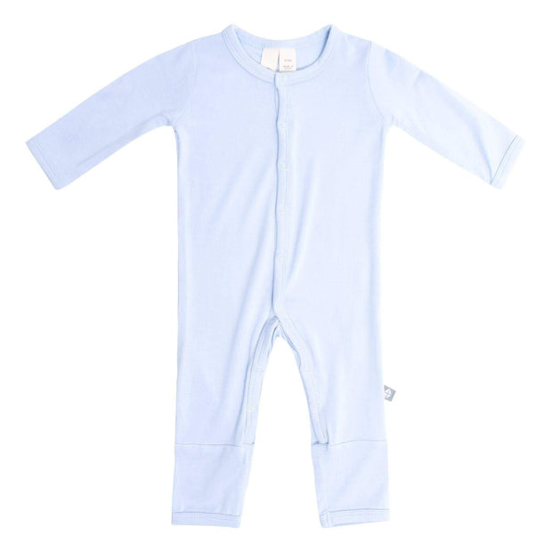Kyte BABY Layette Ice / Newborn Romper in Ice