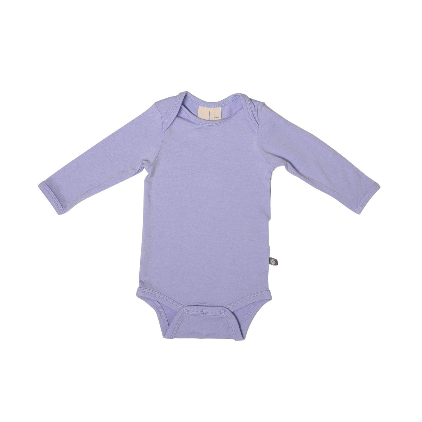 Long Sleeve Bodysuit in Lilac - Kyte Baby