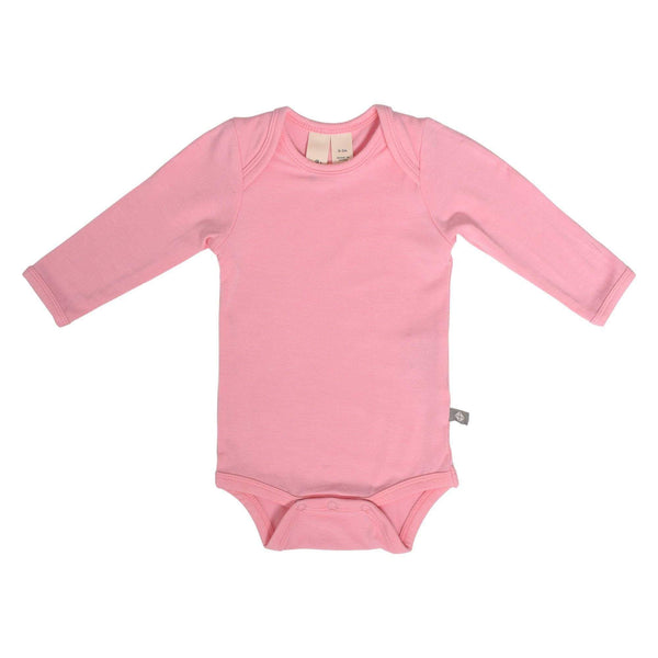 Long Sleeve Bodysuit in Petal - Kyte Baby