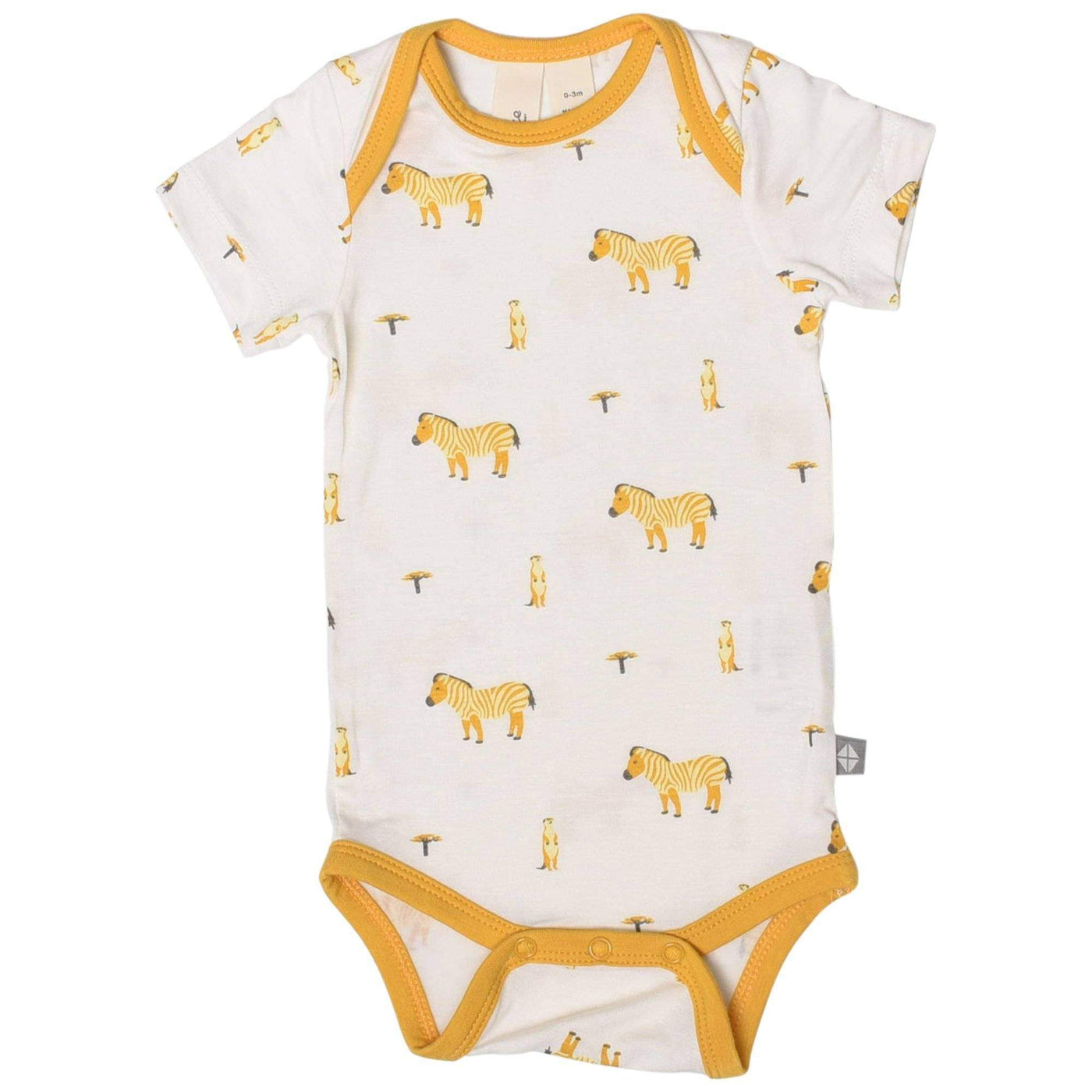 Printed Bodysuit in Savanna - Kyte Baby