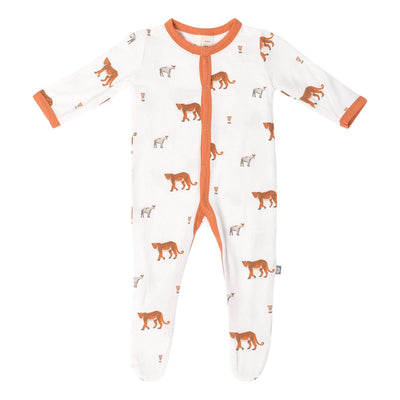 Kyte BABY Layette Printed Footie in African