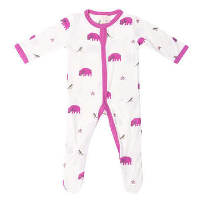 Kyte BABY Layette Printed Footie in Waterhole