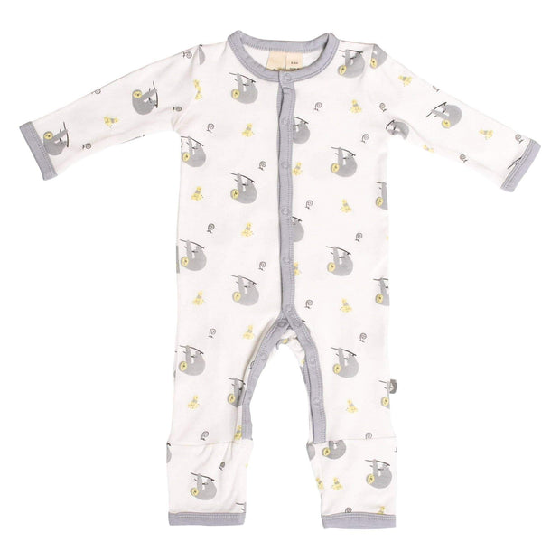Printed Romper in Canopy - Kyte Baby
