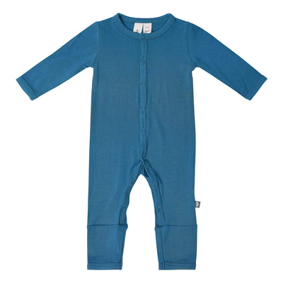 Kyte BABY Layette Romper in Teal