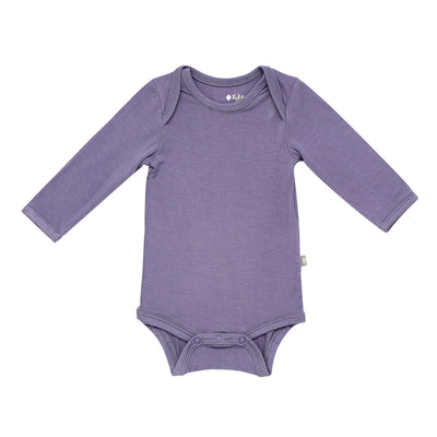 Kyte BABY Long Sleeve Bodysuits Long Sleeve Bodysuit in Orchid