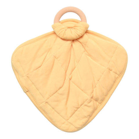 Lovey in Honey with Removable Wooden Teething Ring - Kyte Baby