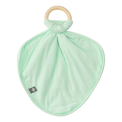 Lovey in Mint with Removable Teething Ring - Kyte Baby