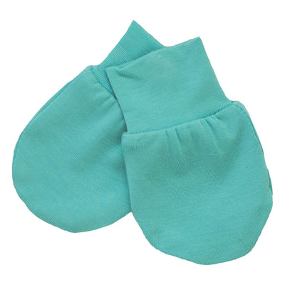 Kyte BABY Scratch Mittens Jade / Infant Scratch Mitten in Jade