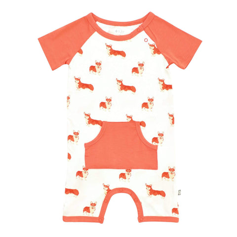 Kyte BABY Short Alls Short All in Corgi