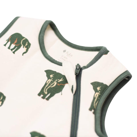 Printed Sleep Bag in Elephant 2.5 TOG
