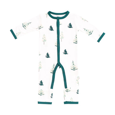 Kyte BABY Snap Romper Tree / Newborn Printed Romper in Tree