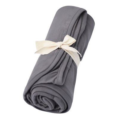 Swaddle Blanket in Charcoal